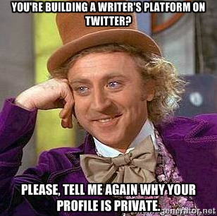 Why is your profile private?