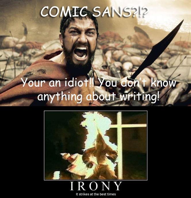 ComicSansIrony