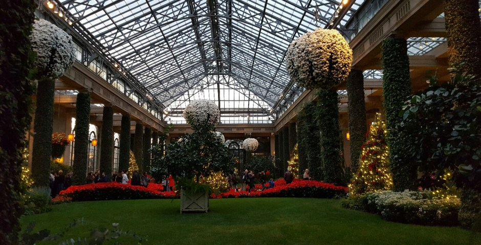 A Visit to Longwood Gardens for their Christmas Display