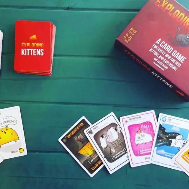 Have you tried Exploding Kittens yet? Such a fun familyhellip