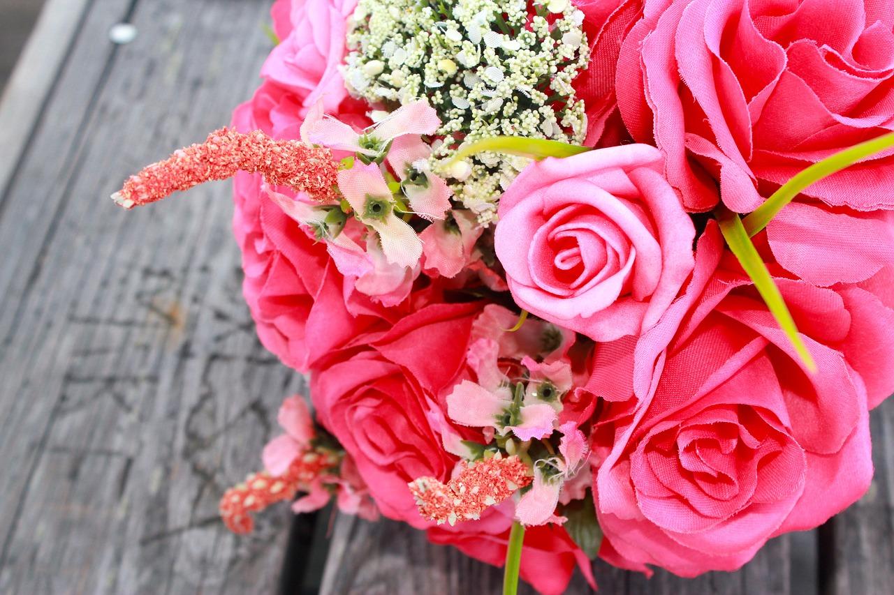 Diy Silk Flower Wedding Bouquet Erin Mackey Author