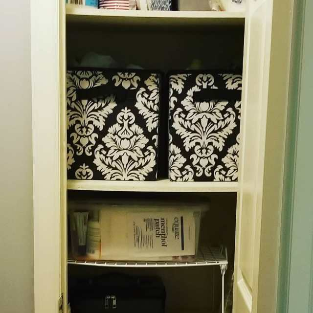 Our linen closet is looking so much more organized afterhellip