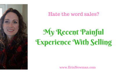 My Recent Painful Experience With Selling