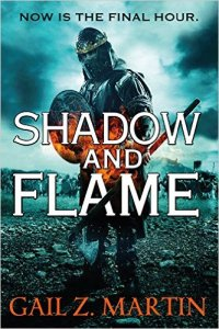 Book Cover for Shadow and Flame