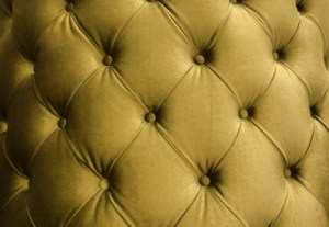 Gold Leather Texture Stock Photo