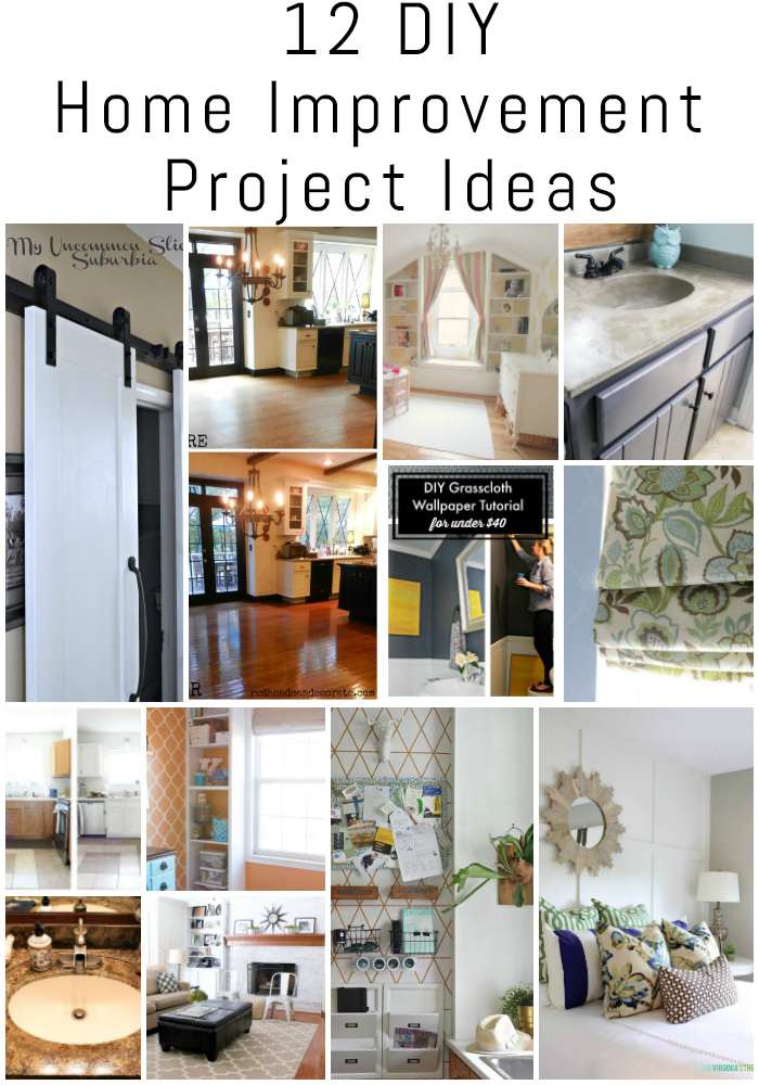 12 Diy Home Improvement Project Ideas The Diy Housewives
