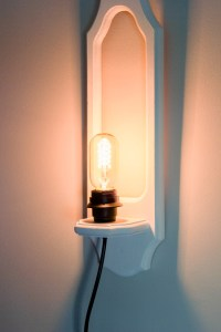 DIY Upcycled Wall Sconces: #SwapItLikeItsHot - Erin Spain