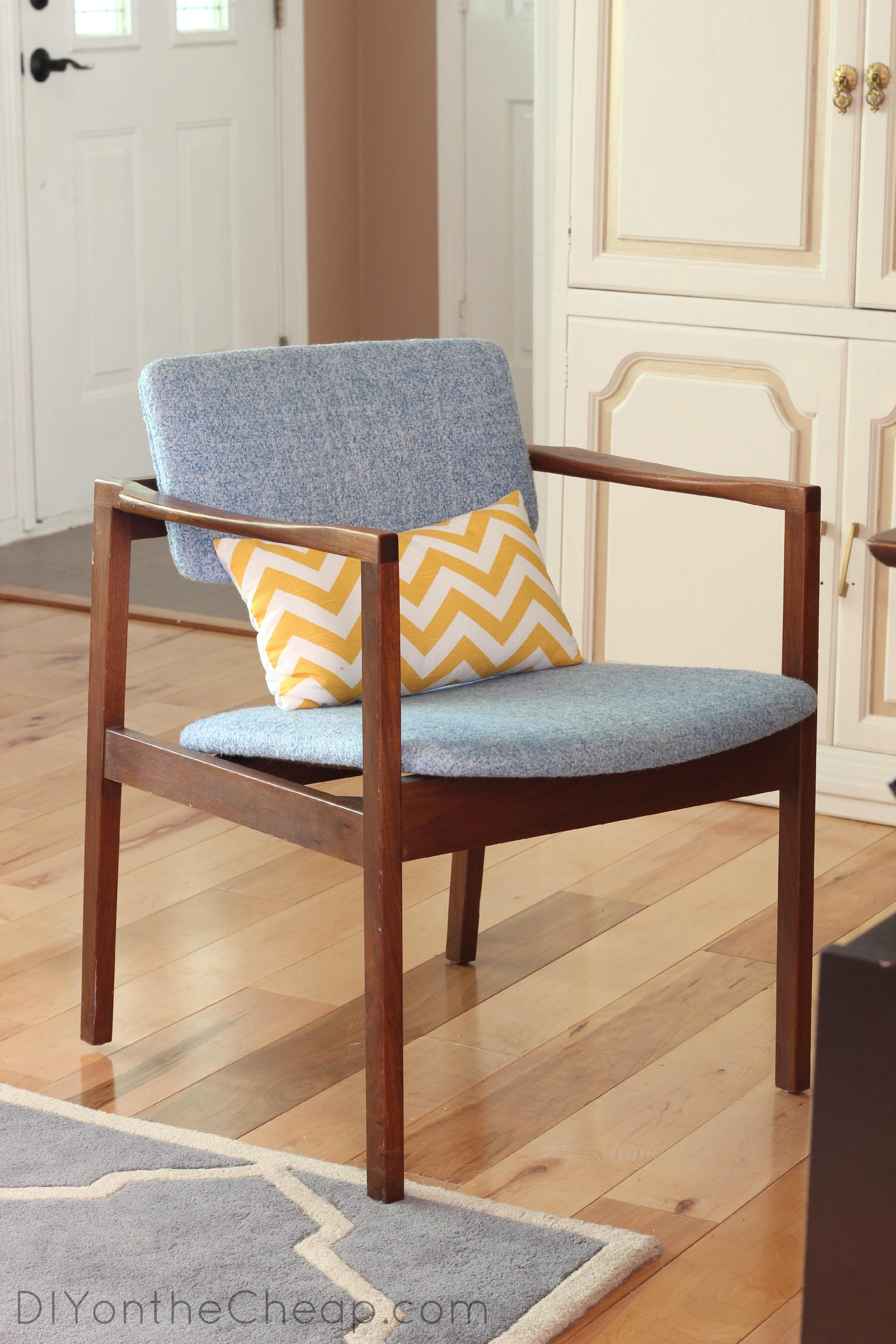 desk chair diy folding bed new office flea market furniture find erin spain