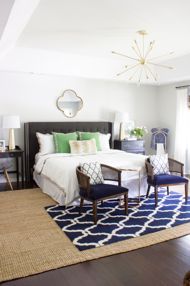 Master Bedroom Makeover Reveal One Room Challenge Erin