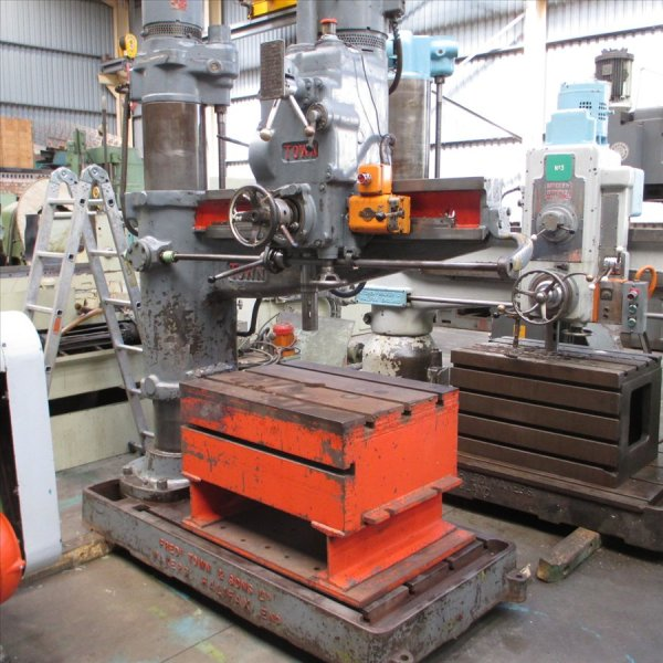 TOWN radial arm drilling machine 1200mm Arm