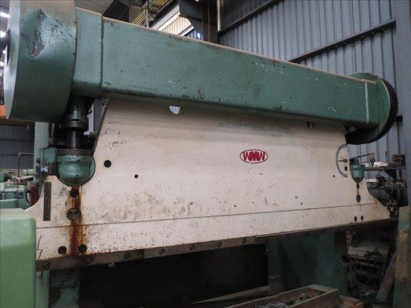 WMW 80 ton x4200mm mechanical pressbrake.