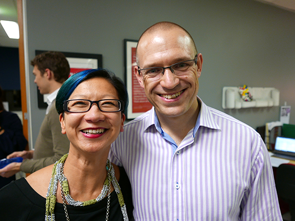 Adrienne Tan and Nick Coster of Brainmates