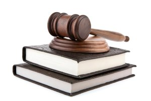 New England ERISA Lawyer gavel and books
