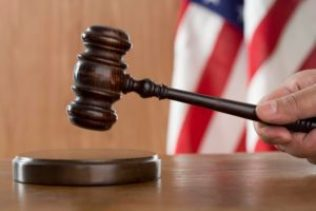 Rhode Island Massachusetts disability insurance claims attorney gavel on stand