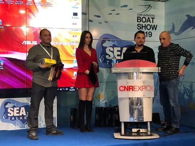 2019 İSTANBUL CNR BOAT SHOW- ROTA FISHER 6.60 GURUP TOPLANTIMIZ