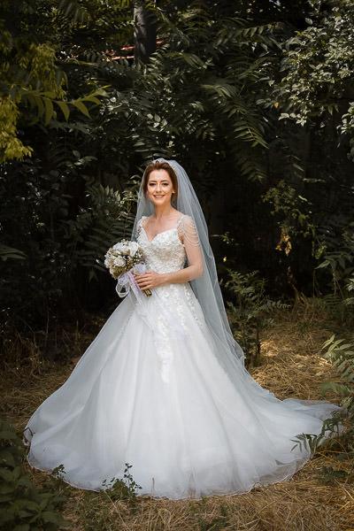 Bride in Tekirdag wedding