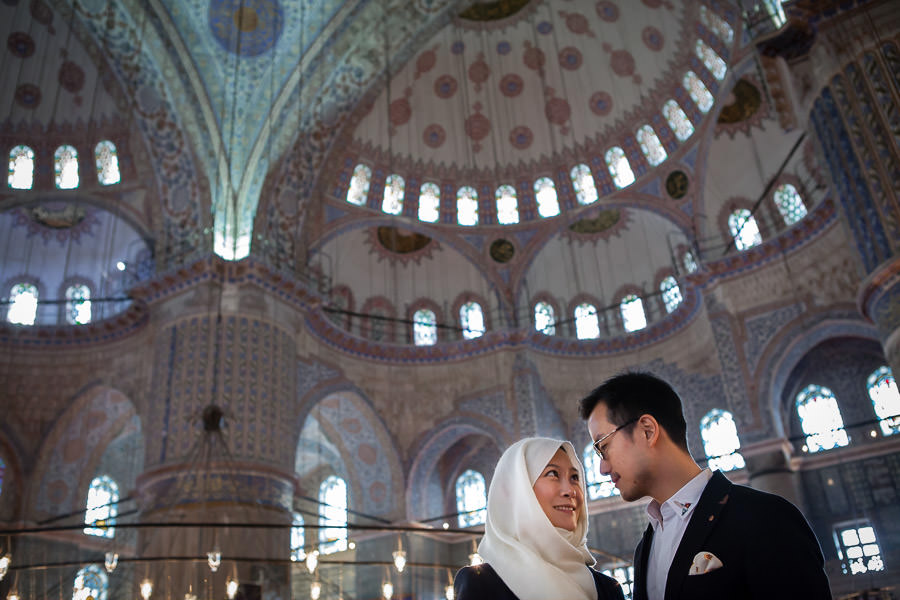 couple photoshoot in istanbul