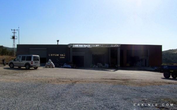 ÜstünYağ Zeytinyağ fabrikası
