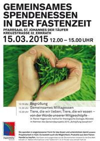 Spendenessen_Ostern2015