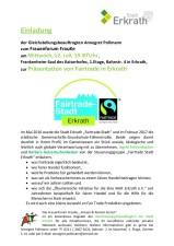 FrauKe 12.07.17, Fairtrade, Einladung