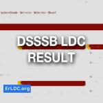 DSSSB LDC RESULT