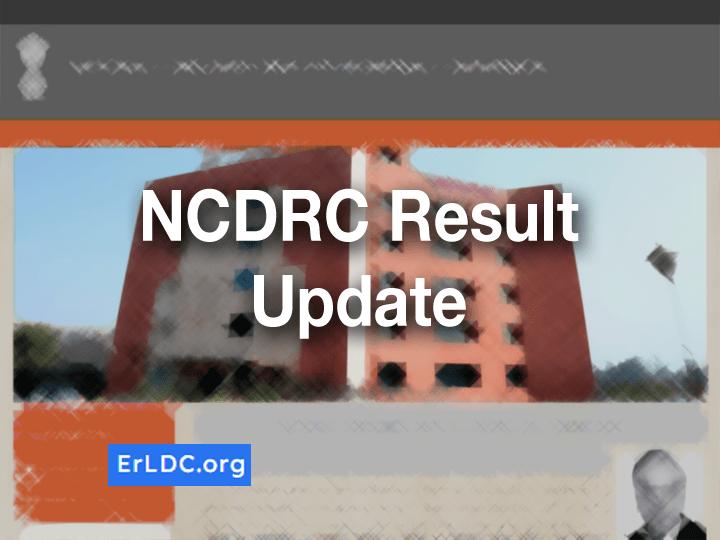 NCDRC LDC Result