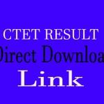 CTET result 2019 December