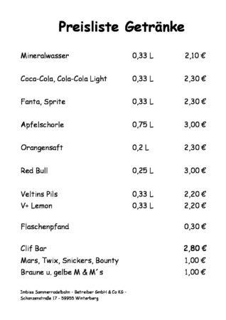 20170403_Preisliste Imbiss 2017 Getrnke und Sigkeiten