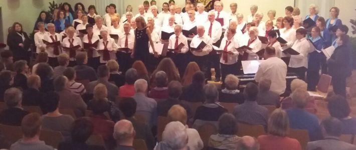 Danke für 25 Jahre Chorleiterin Petra Nuber