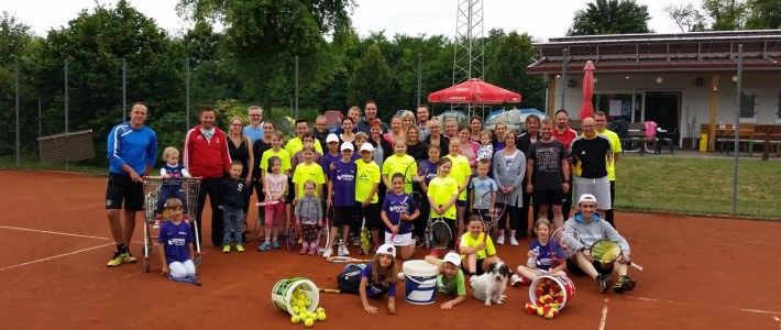 Tennisreiches Jugendcamp des TC Erlenbach