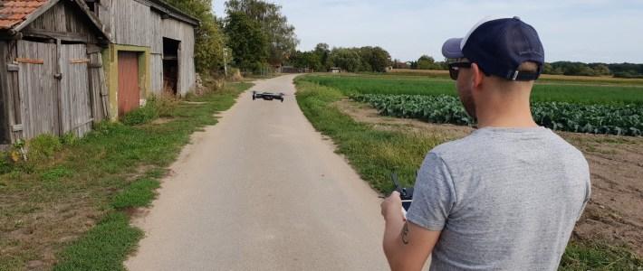 Eine Beweissicherung wurde auf den Feldwegen rund um Erlenbach durchgeführt