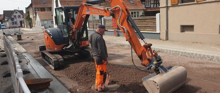 Letzte Arbeiten rund um den Bauabschnitt 3a erfolgreich erledigt – der Asphalt kann kommen!