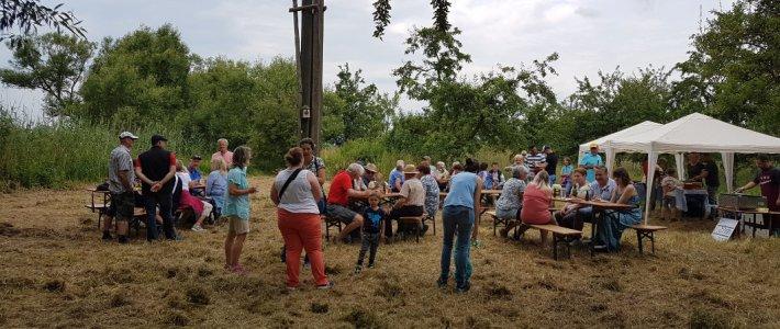 Erfolgreiche Erlenbacher Storchentaufe