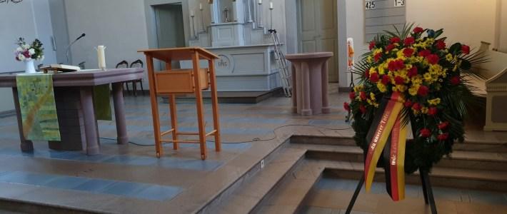 Kirche – und Ortsgemeinde Gedenken gemeinsam am Volkstrauertag der Toten