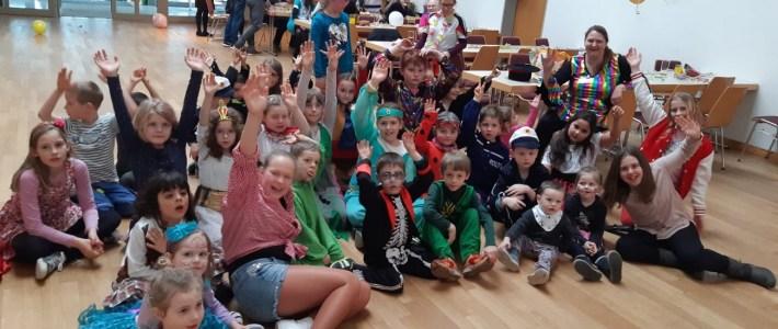 Kinderfasching in Erlenbach – ein rießen Spaß für unsere Kleinsten