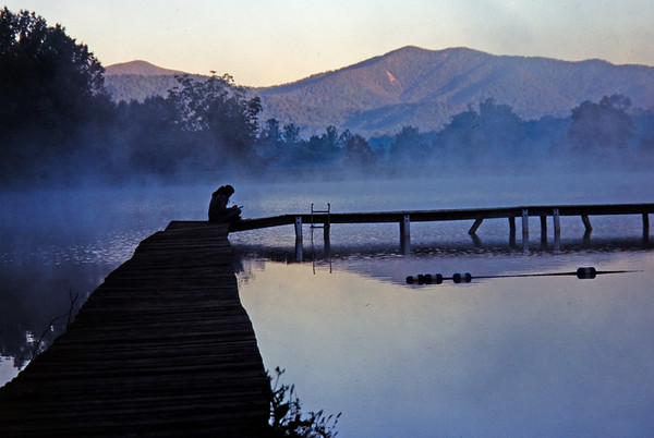 Early Morning Reflection, Camp Varsity, Virginia, USA