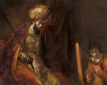 Kunstvoorstelling Rembrandt en trawanten