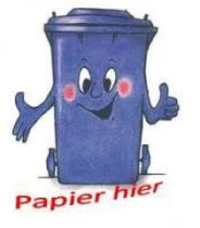 Zaterdag wordt weer oud papier afgehaald!