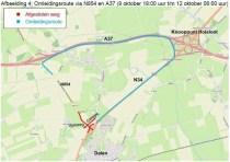 Werkzaamheden N34 Coevorden – Holsloot