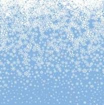 De eerste sneeuwvlokken vallen vandaag