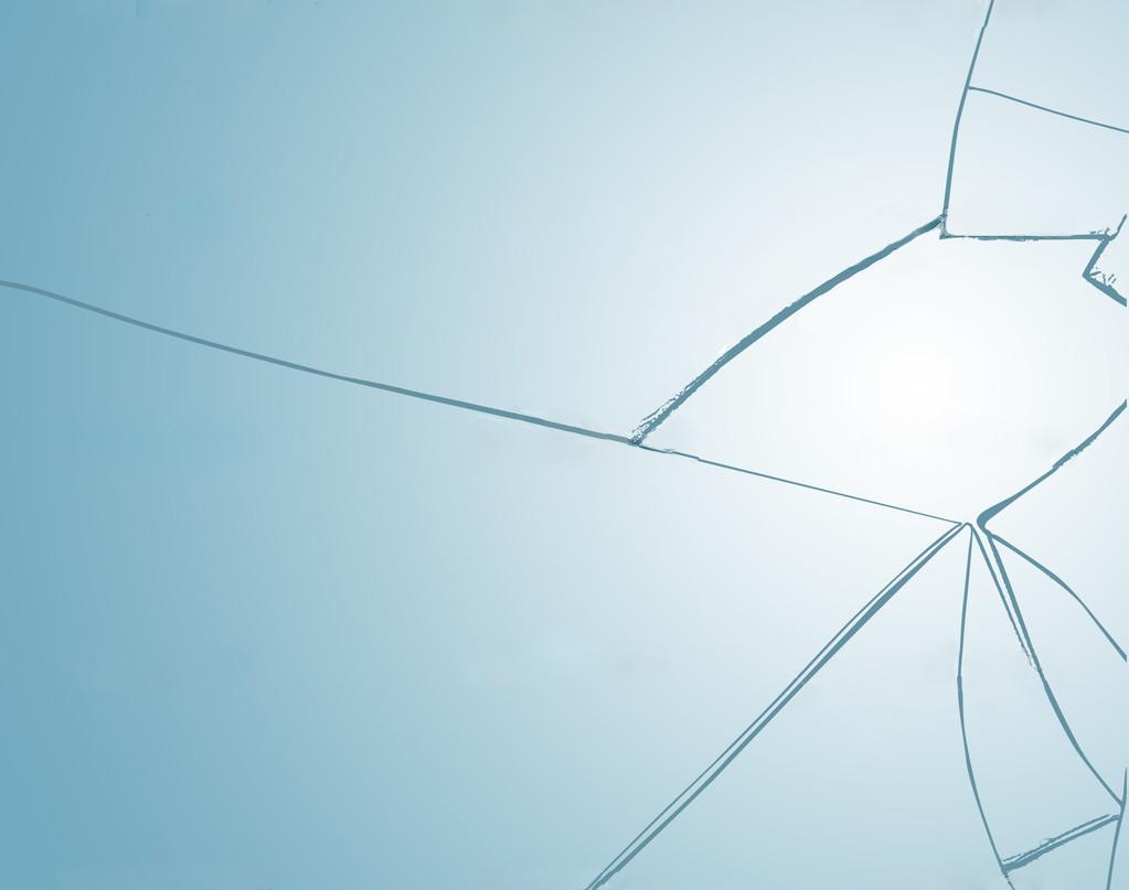 Broken window background texture, vector illustration