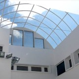Esempio Vetrata Continua e pareti vetrate a Trieste