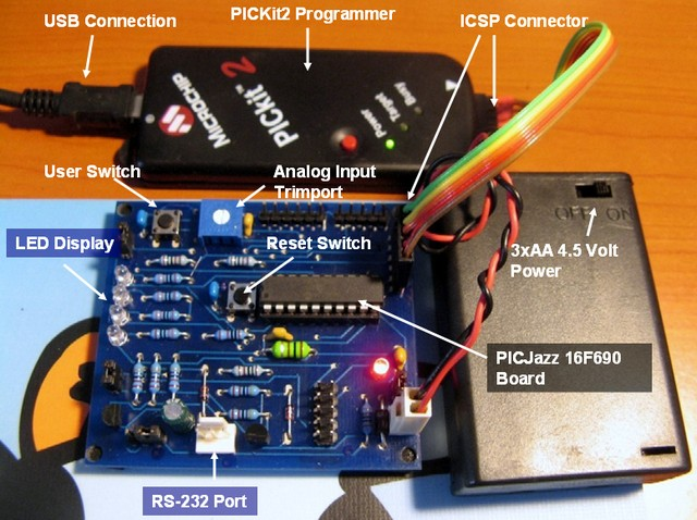 Introduction To Mplab Ide Electronic Circuits And Diagram
