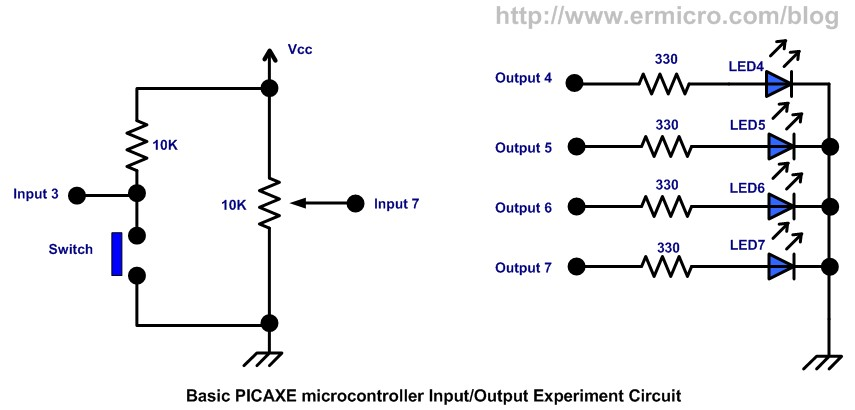 Introduction to the Embedded System with PICAXE