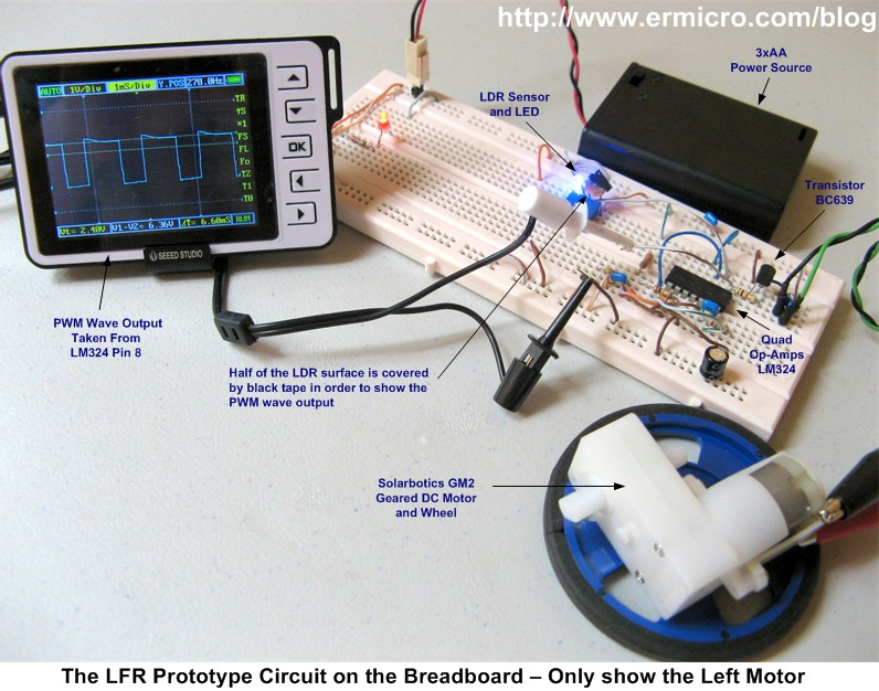 The Lm324 Quad Comparator Circuit Images Frompo