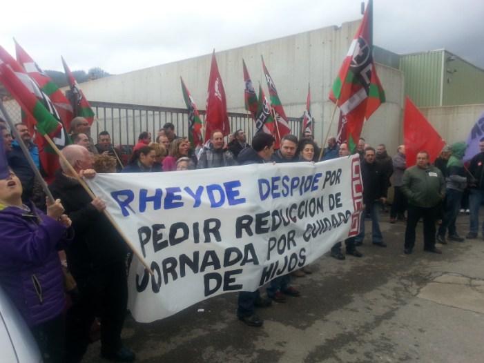 CCOO denuncia que Rheyde despide a un trabajador por pedir reducción de jornada