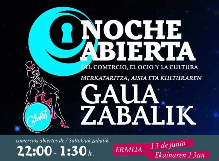 """La noche abierta "" de la ACHE trae el cabaret a Ermua"