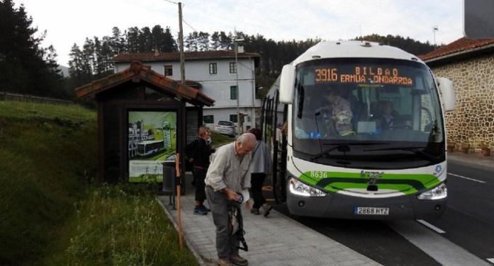 Bizkaibus modifica itinerarios en Ermua tras abrirse la  Variante