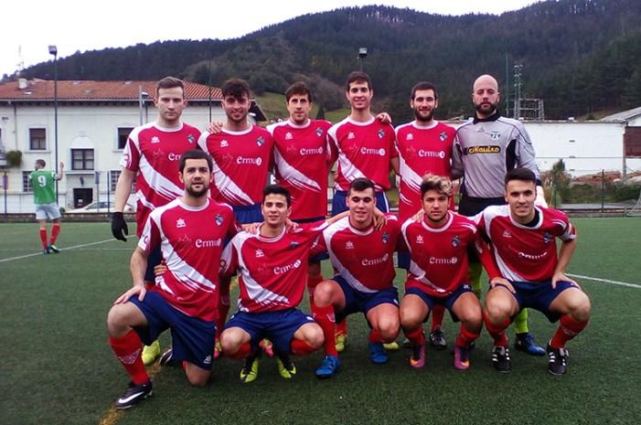 0-4 El Ermua sin problemas en Ibarra