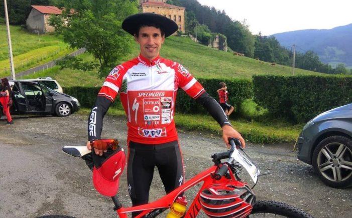 Aitor Hernández, campeón de Euskadi de cross country
